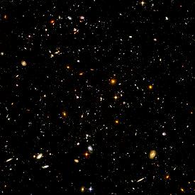 Deep Field Hubble