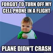 Cell Phones Flights