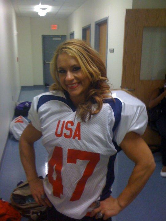 Jen Welter Football