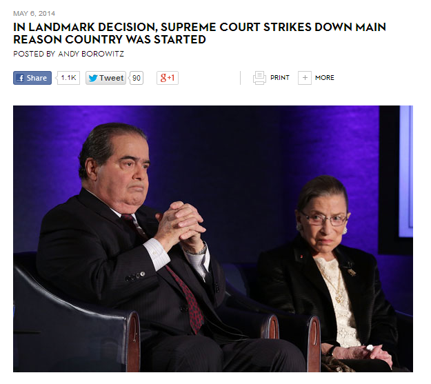 Supreme Court Headline