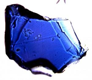 Blue Ringwoodite