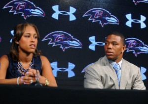 Ray Rice and Wife