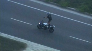 Daredevil Motorcycle Rider Arrested