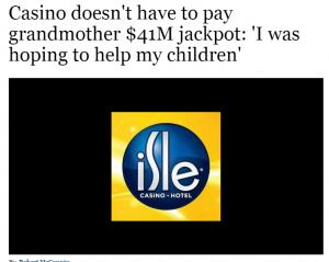 Casino Headline