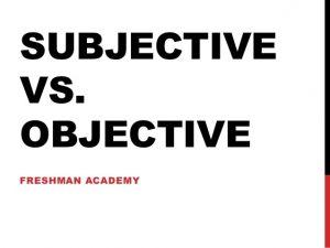 objectivist thinking