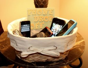 Cell Phone Basket