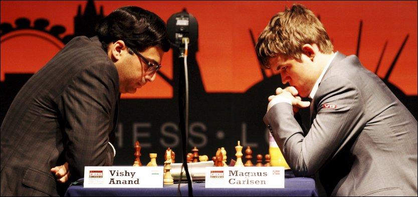 Carlsen Anand chess match