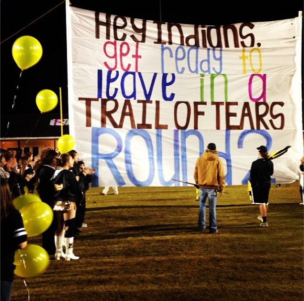 Trail of Tears Banner