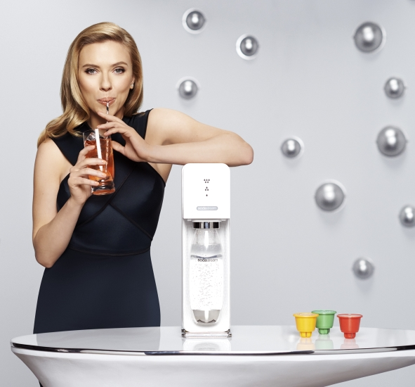 Scarlett and SodaStream