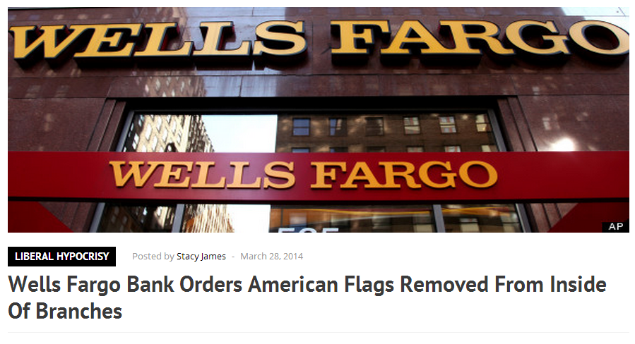 wells Fargo Bank Headline