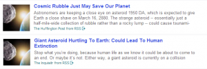One Story Two Headlines
