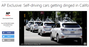 self-driving cars accidents