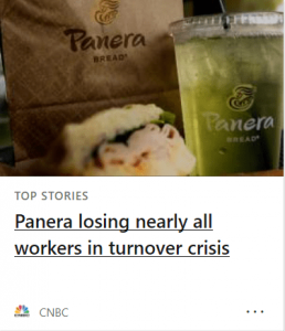Panera Misleading Headline